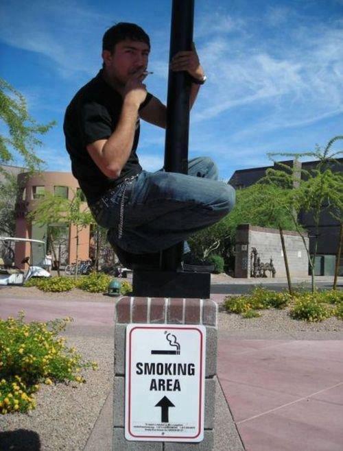 Smoking area. Not an OC..