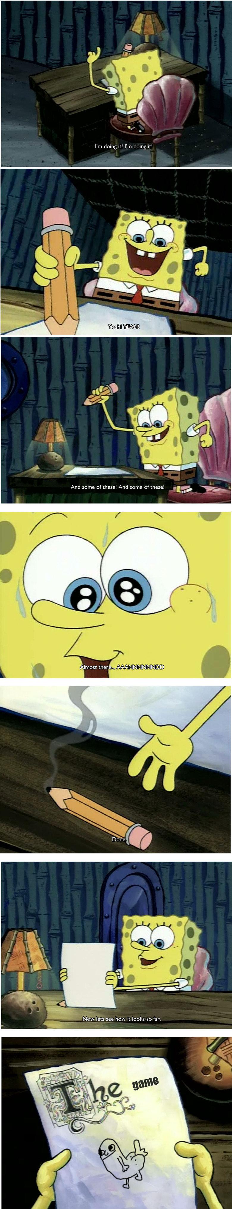 Spongebob post? Yes.. I loved this episode as a kid. NOSTALGIA BONER..