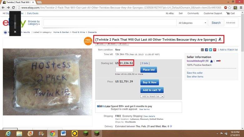 sponges. oc.. yeah, a screenshot from ebay is OC