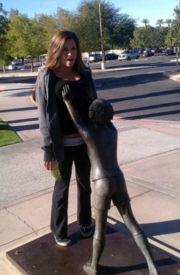 Statutory rape. .. He was hard
