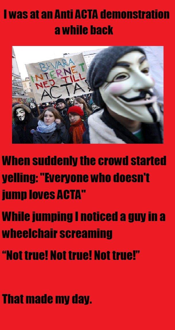 Sucks to be handicapped. OC.. Hey it's the 9gag meme mask