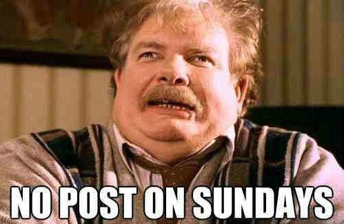 Sunday. .