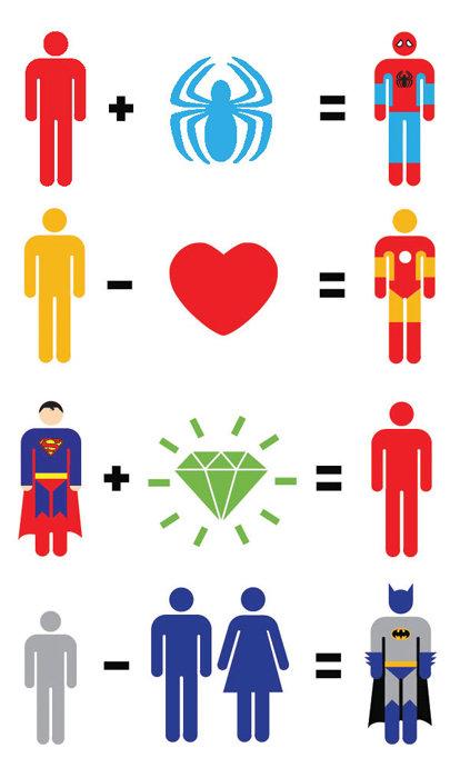 Superhero mathematics. .. fixed