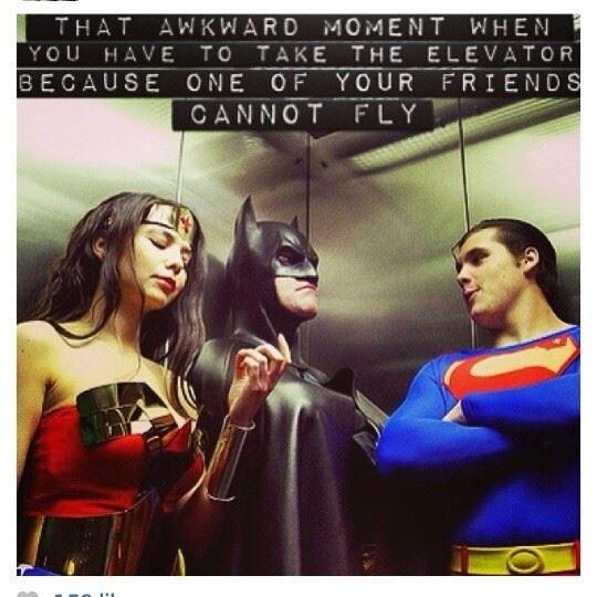 superheros. .