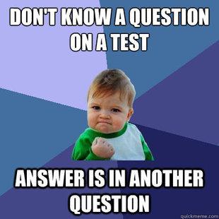 Test. Fecal matter.. ANSWER IS iii QUESTION