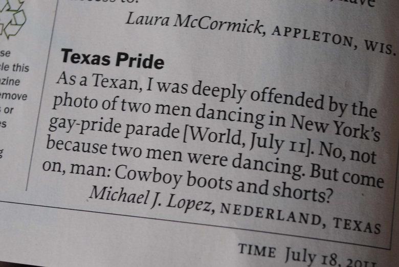 Texas Pride. .. Texas mention on FJ. All Texans swell with gunpowder.