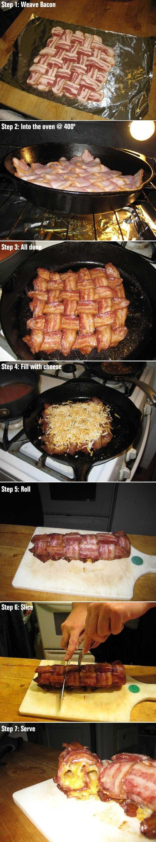 The Bacon Roll™. ITT: I teach you phaggots how to make a bacon roll.