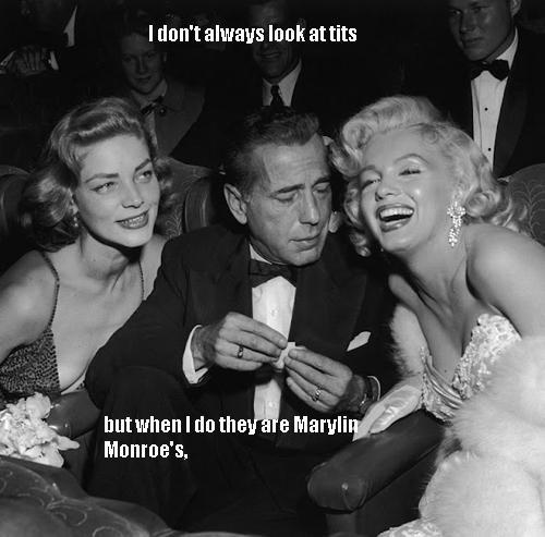 The most interesting man. . I tmn' t artfags look at tits Monroes,