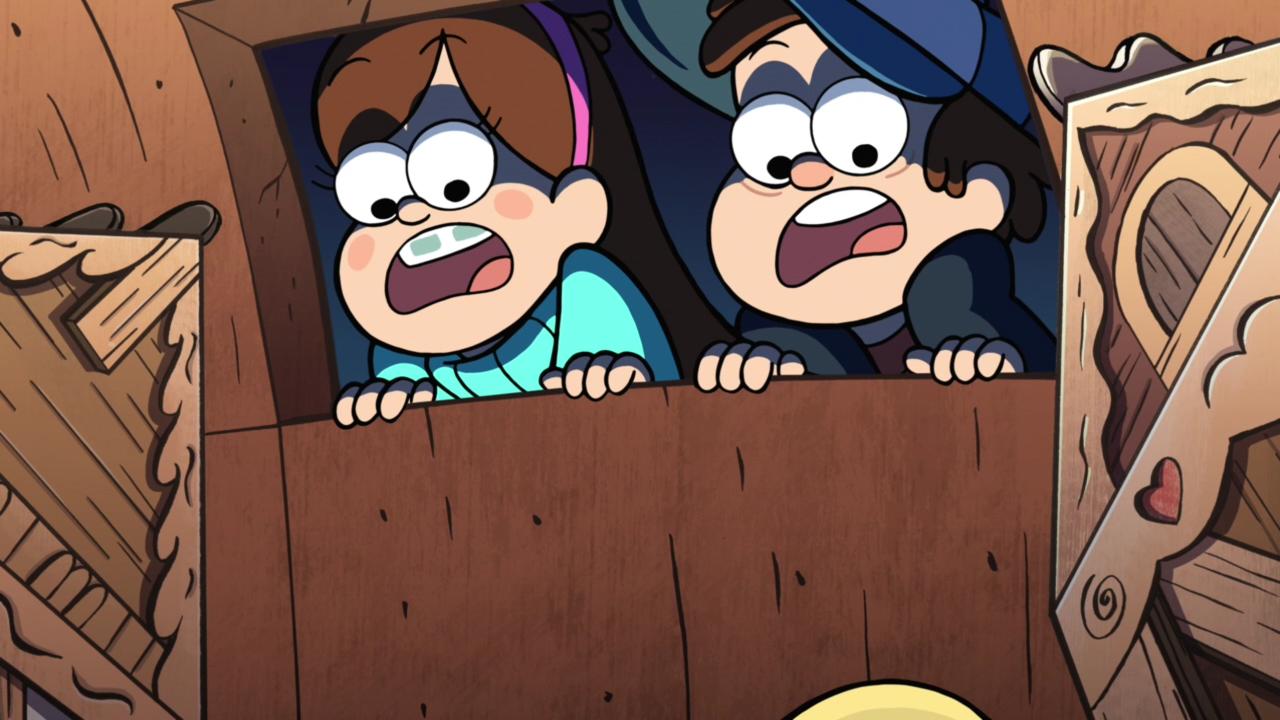 The new Attack on Titan looks great. Baby Mabel is adorable. Gravity Falls.. SIND SIE DAS ESSEN? NEIN, WIR SIND DER JÄGER! CAN'T WAIT