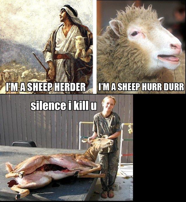 the silence of the lambs. the silence of the lambs.. kebab for everyone on FJ!