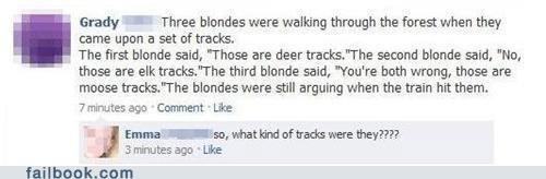 they were unicorn tracks Emma. thumbs up if you like.