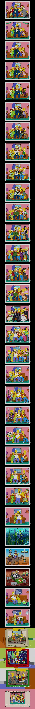 Time flies so fast. .. Grandpa Simpson is immortal
