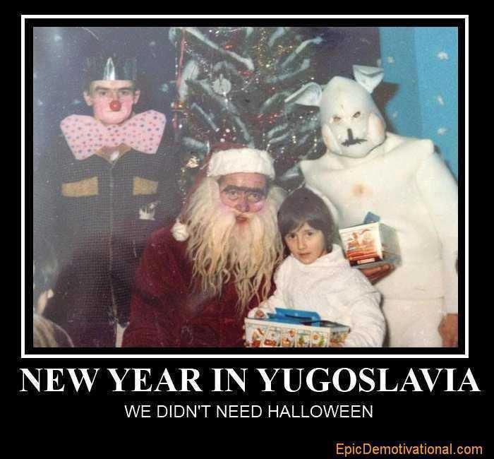 "title?. . YEAR I? ii"" YUGOSLAVIA WE DIDN' T NEED HALLOWEEN. Hmmm, reminds me of my childhood"