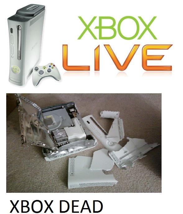 tittly. descriptly. XBOX DEAD. you cruel basterd! ;__: