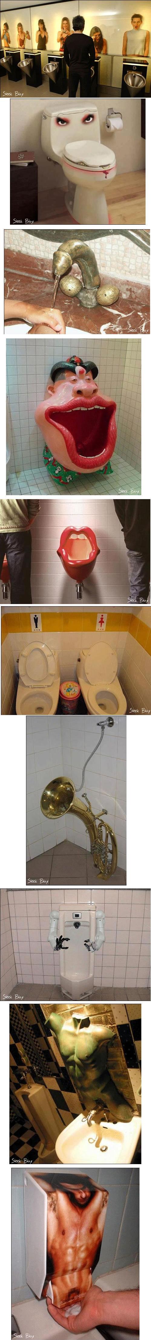 toilet humour. .
