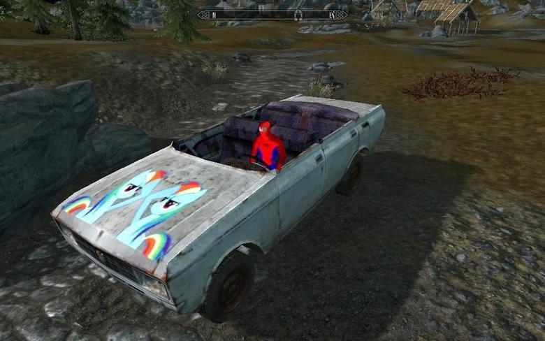 Too much Skyrim Mod?. I think not, good sir.. NA NA NA NA NA NA NA NA SUPERMAN .....superman