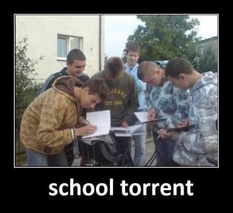 torrent. . school torrent. Like always, one seeder.