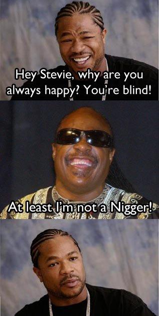 Touche. Stevie got you. iti, iri' happy! ' blind! I 'tait PL' in