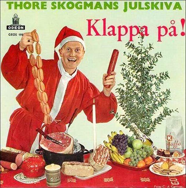Translation please. . THORE ( HANS j TFA' CIDERS. Thore skogmans christmas album clap on!