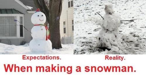 Truth about Snowmen. not mine just found on e webz. Exploitations. When making a snowman.. REPOST