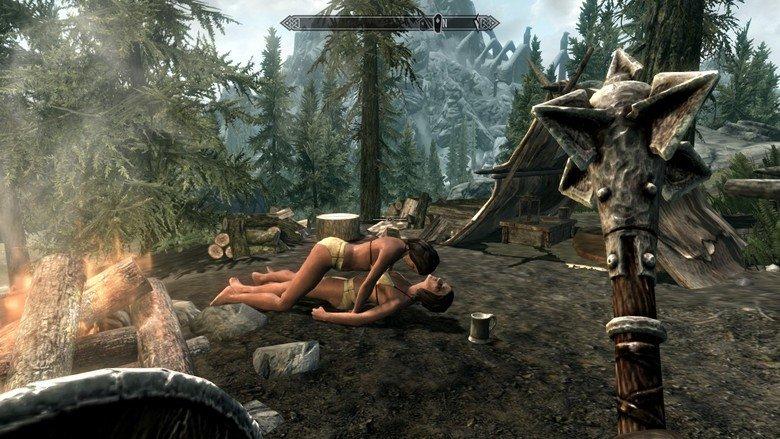 Two Girls, One Tankard. .. The female version of Brokeback mountain