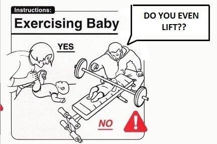 U lift bro?. half OC.