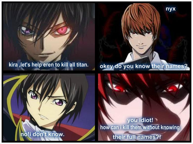 (untitled). go lelouch kill them. Kira Jet' s help men to kill all titan. own' tlt you know an itemes