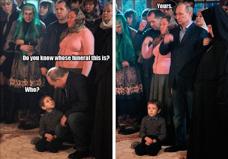 Vladislavski Putinski. Putin aint around. Will [HEW tattooist this Isl?