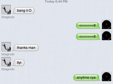 Weird Friends. Random chat from my friend.