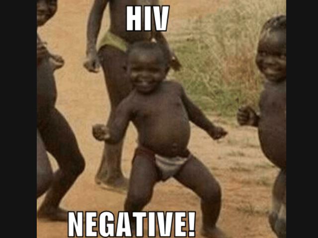 Whoop Whoop!. Hell yeah for healthy Africans!.