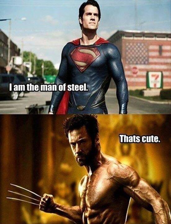 Wolverine. Logan James Howlett.. sadamantium