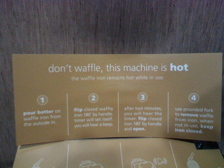 wut. Dont waffle, dont ever waffle.. can i pancake? >.>