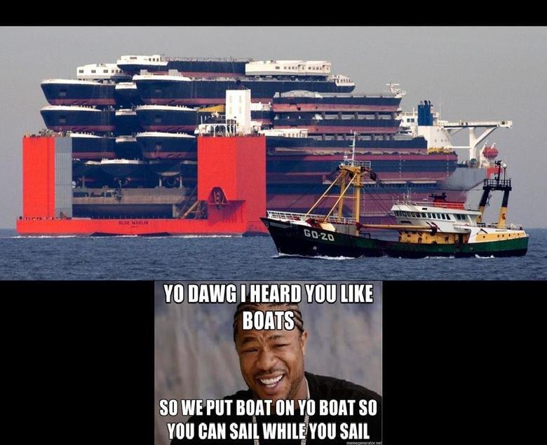 Yo Dawg. .. holy those life boats are huge!!!