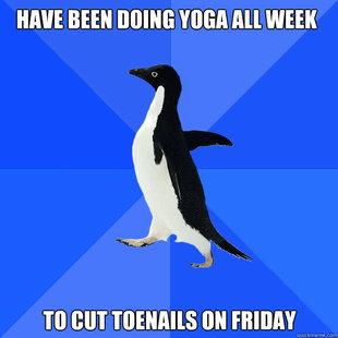 yoga. OC.