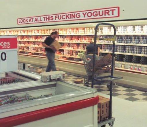 Yogurt FTW. .