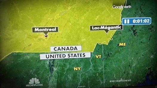 You had one job NBC. I'm not sure where I live anymore.