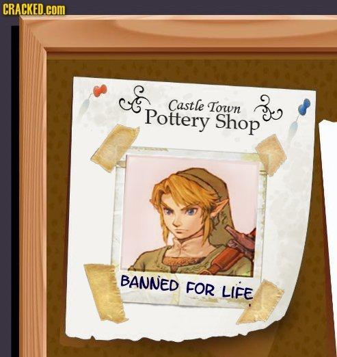 Zelda. .. Link allways with my vase...