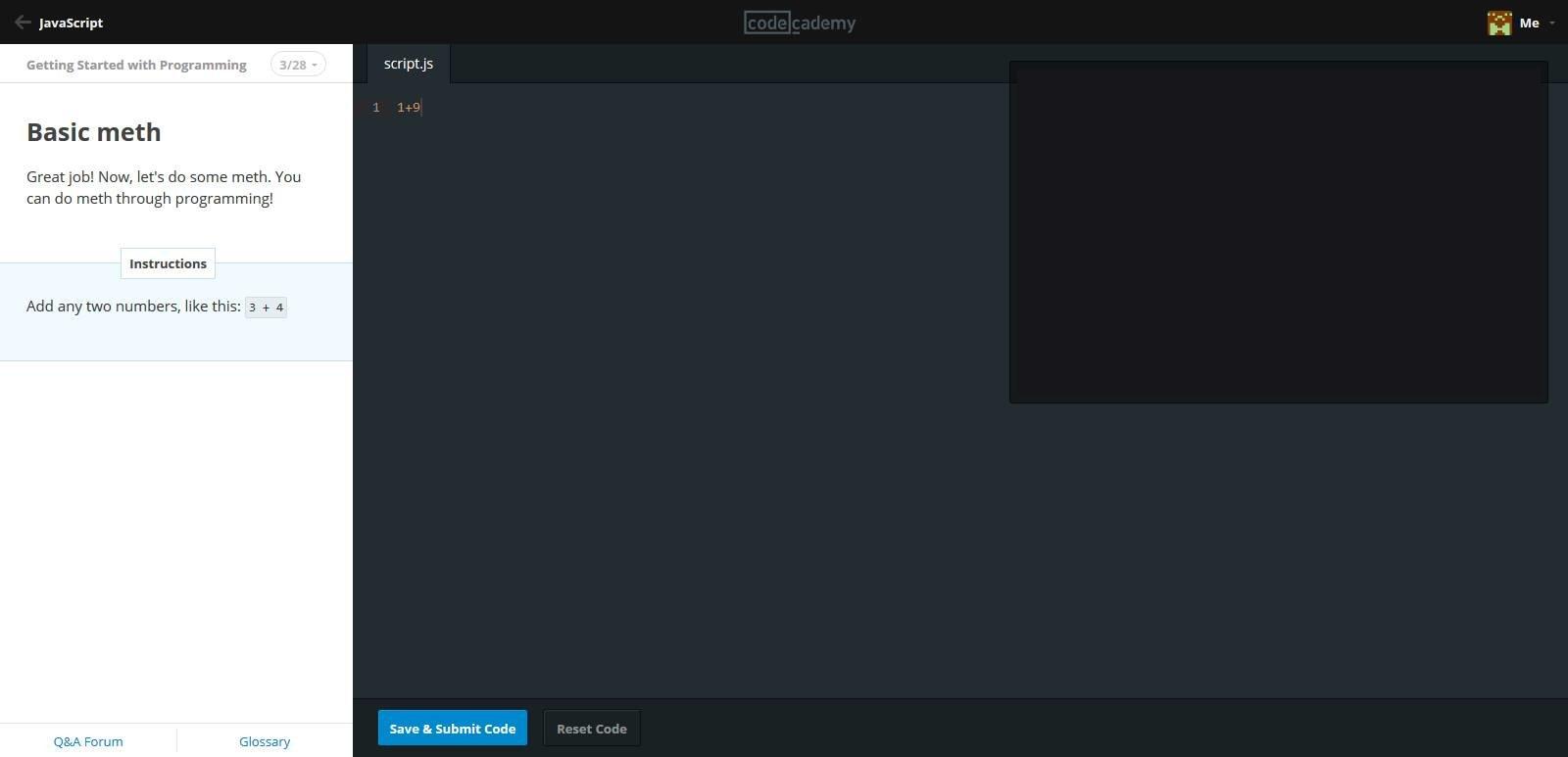 Basic meth a javascript tutorial baditri Images