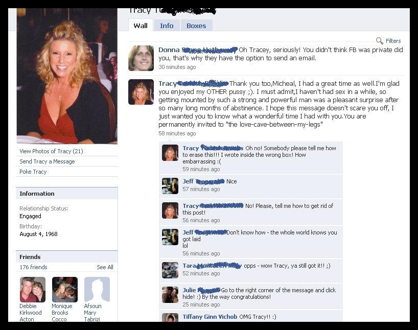 Pussy på Facebook