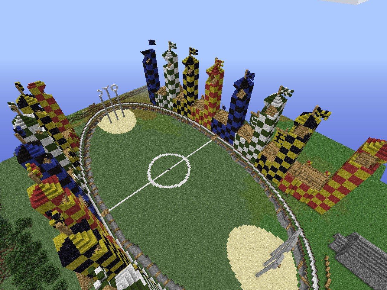 Minecraft Quidditch Arena