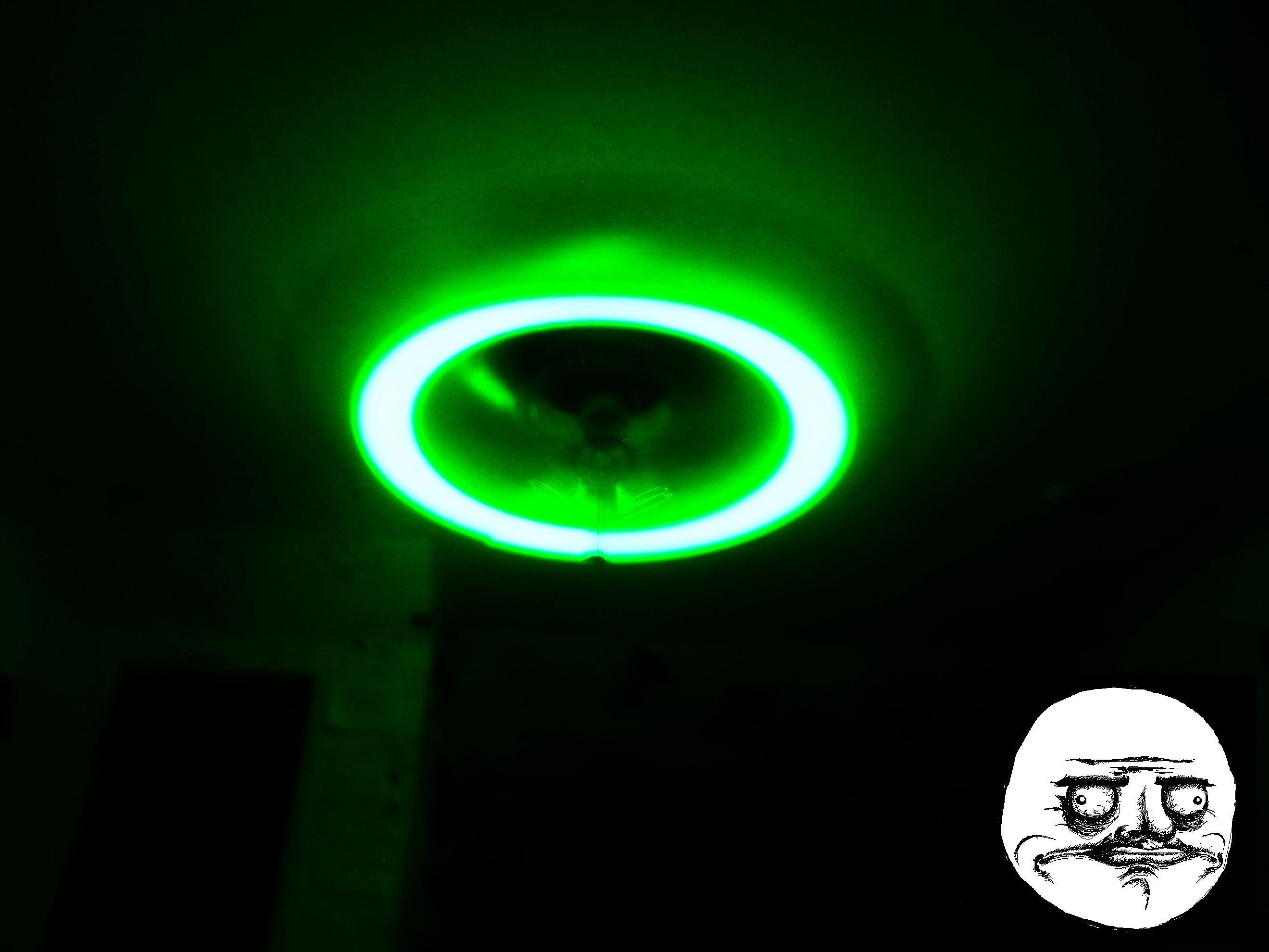 Weed Glowsticks Ceiling Fan Me Gusta