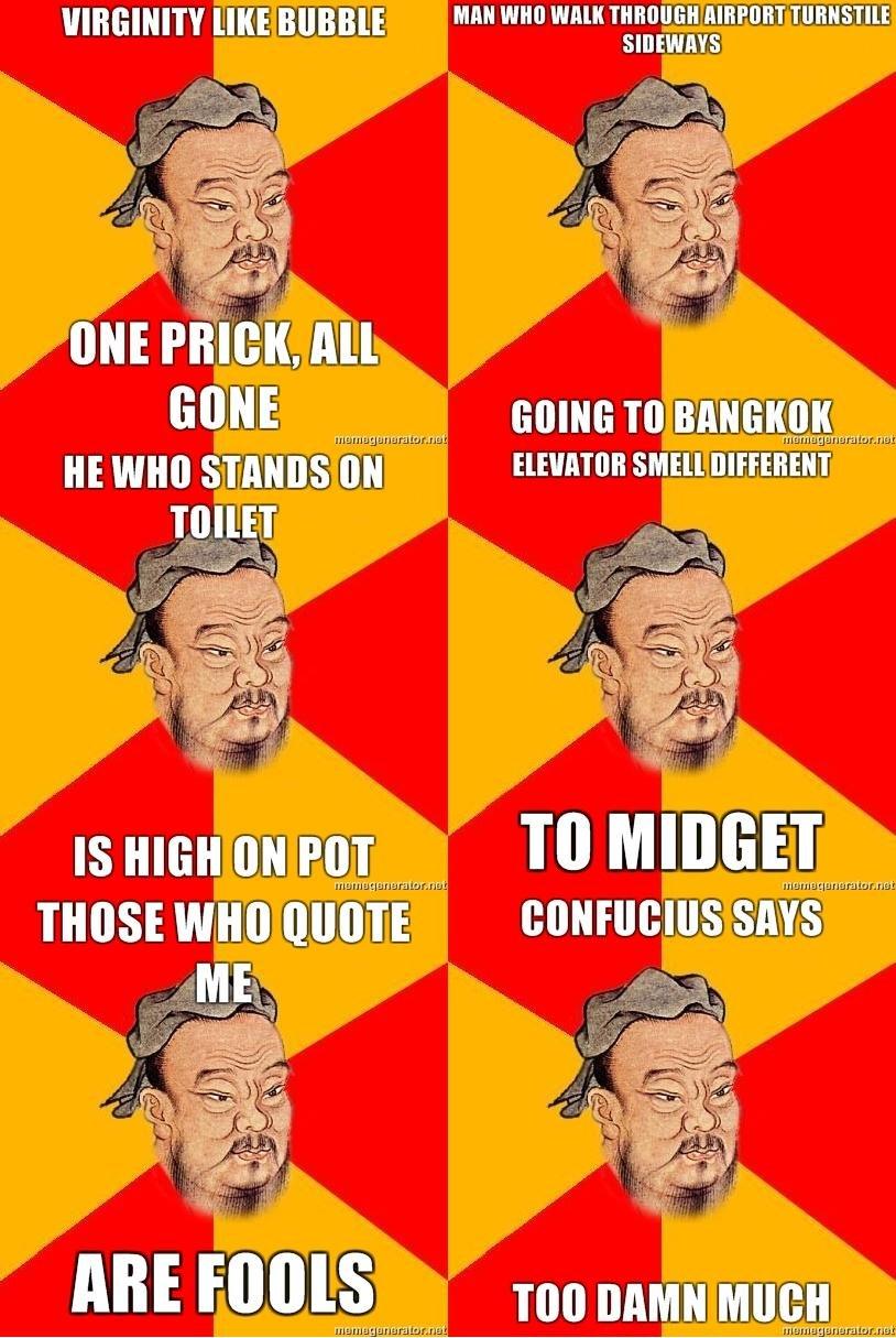 Confucius Say 2