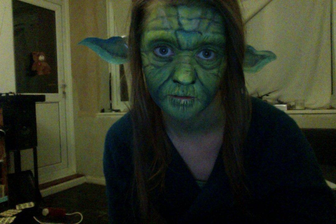 Yoda Face Paint