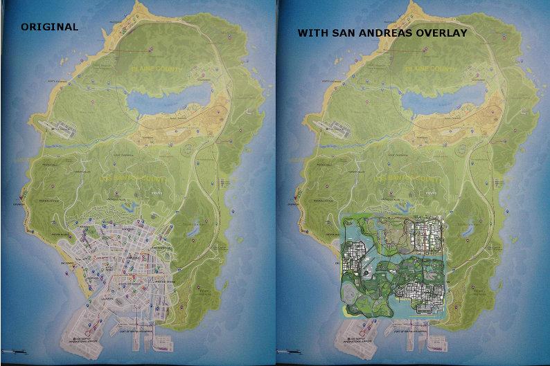 GTA:SA compared to GTAV