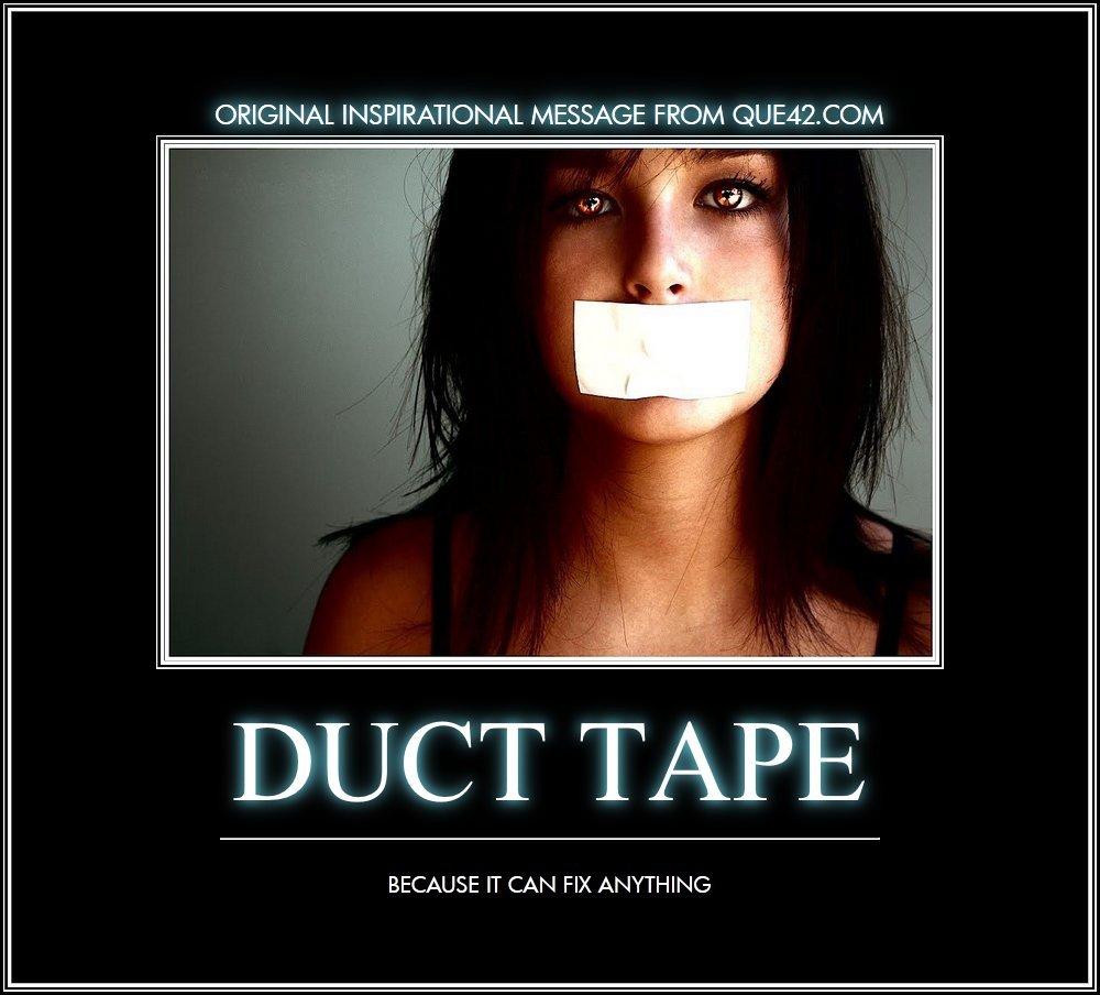 Image result for women & duct tape memes