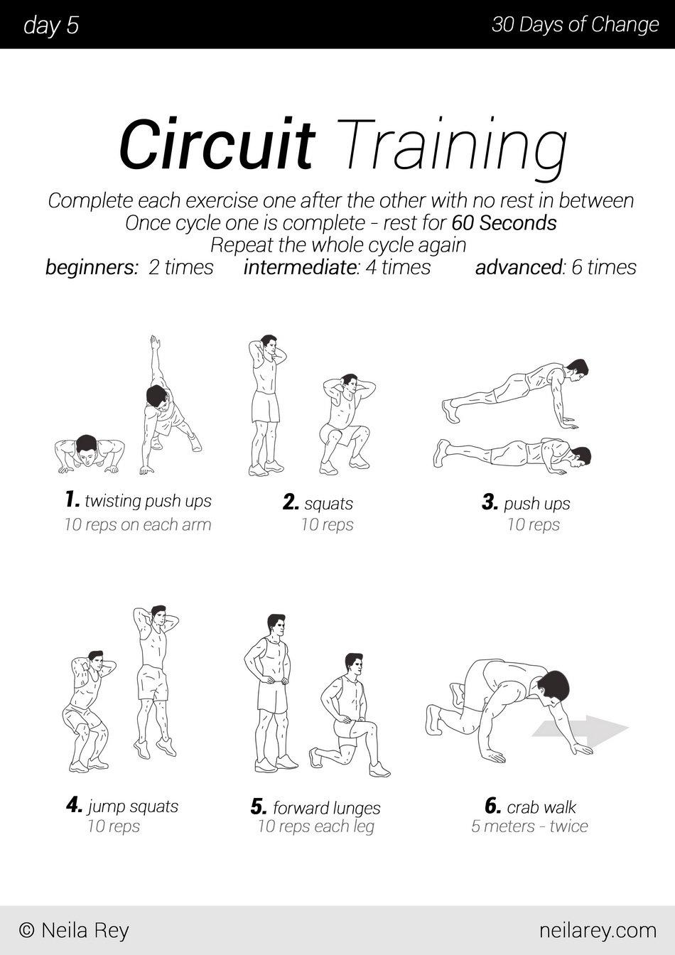 30 cardio exercise