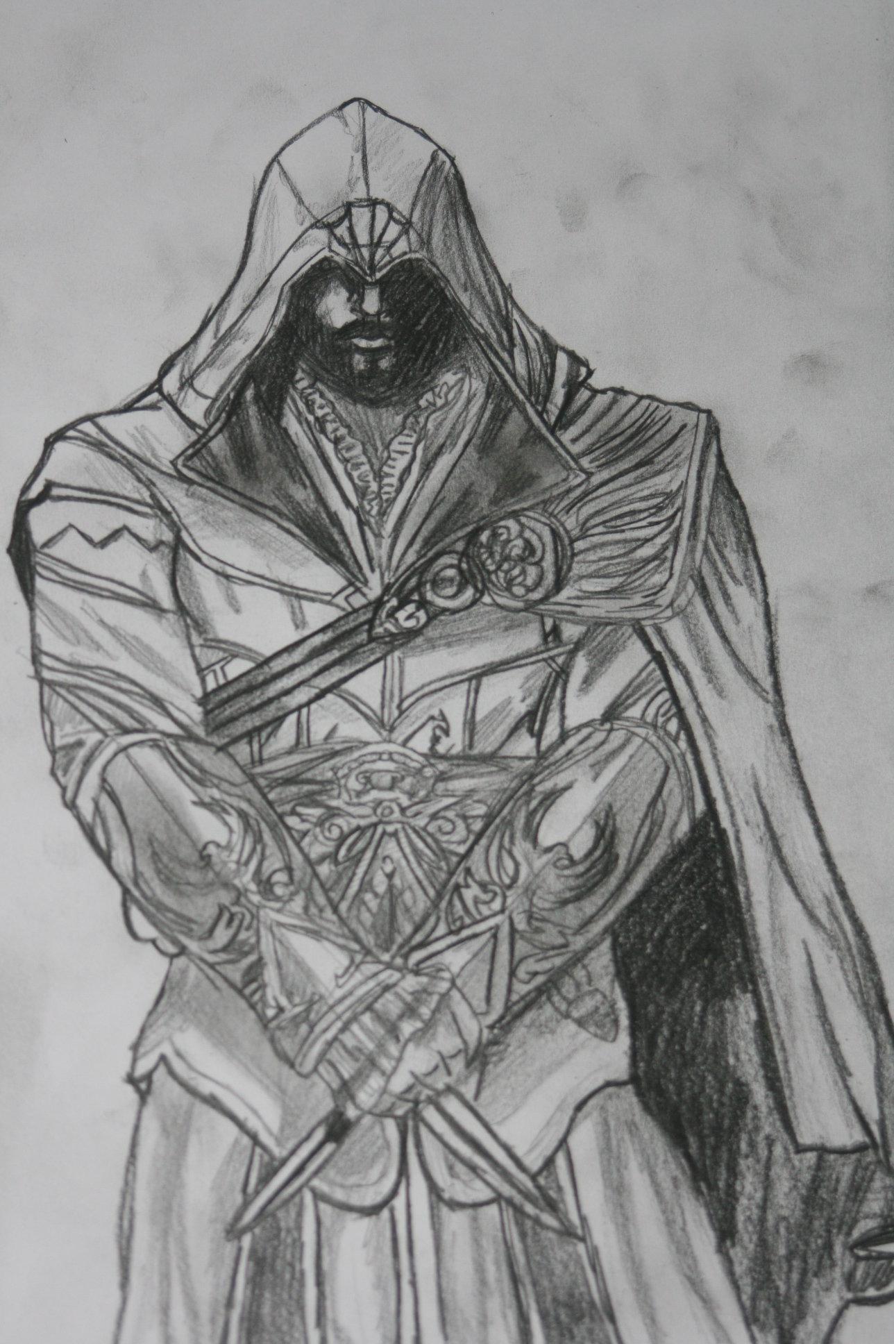 Ezio Auditore Assassin S Creed Fan Art