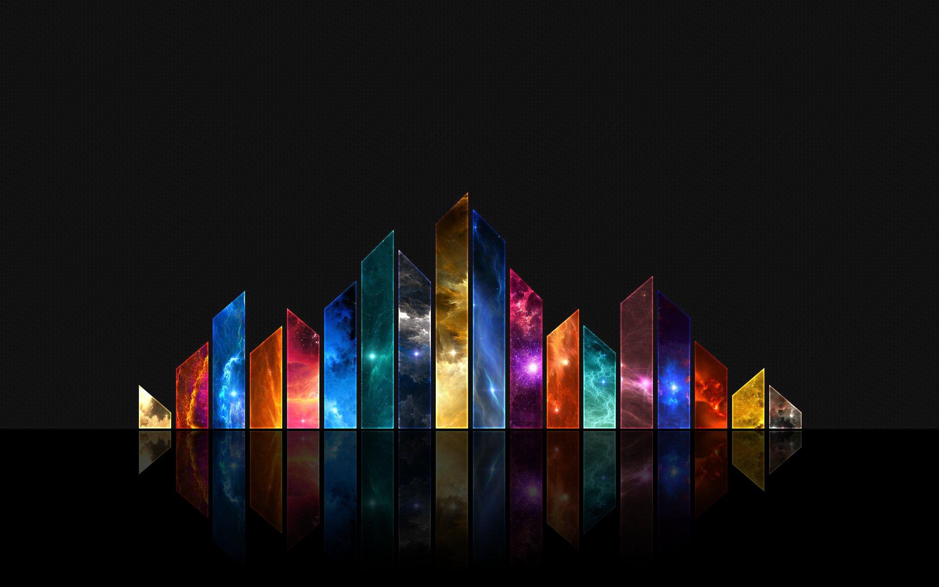 Crystal Pyramid Wallpaper Channel