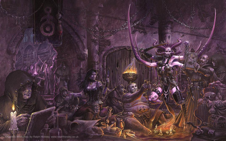 Image result for slaanesh art
