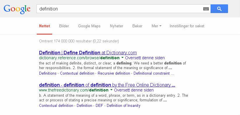 I may have just broken Google